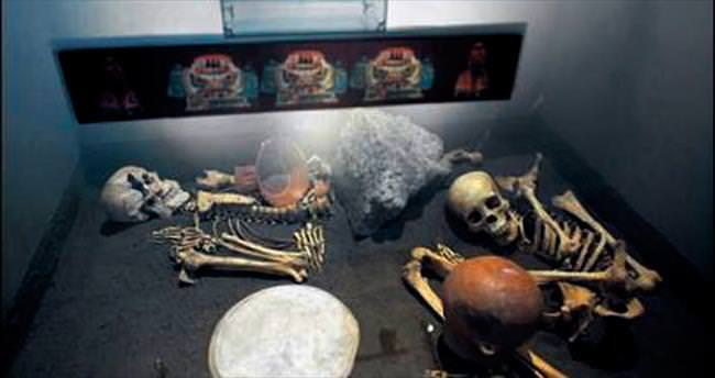 Yamyam kurbanlarının kalıntıları bulundu