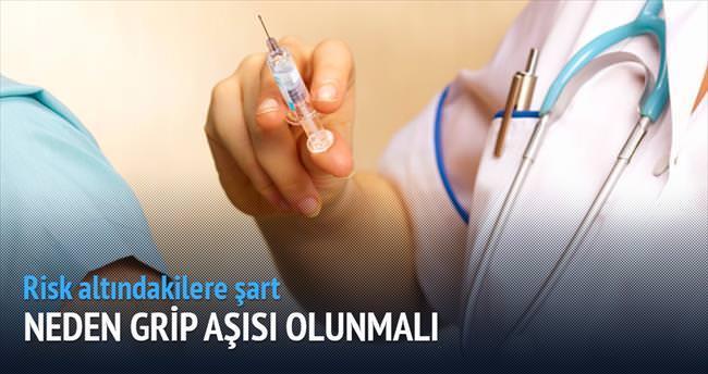 Risk altındaki kişilere grip aşısı şart!