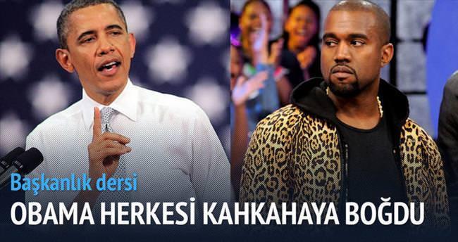 Obama'dan West'e başkanlık tavsiyeleri