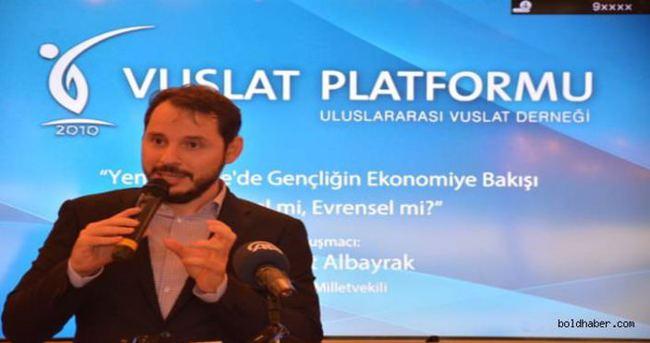 Berat Albayrak: Gençlerimizin üretken bakışı ile ekonomi güçlenecek