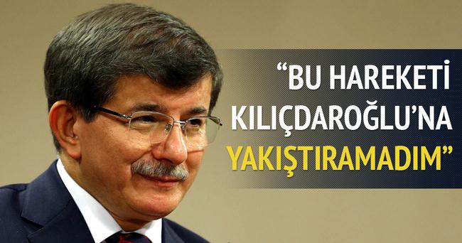 Davutoğlu: Kılıçdaroğlu'na yakıştıramadım