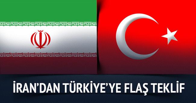 İran'dan Türkiye'ye flaş teklif