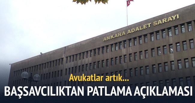 Ankara Başsavcılığı'ndan kısıtlama açıklaması