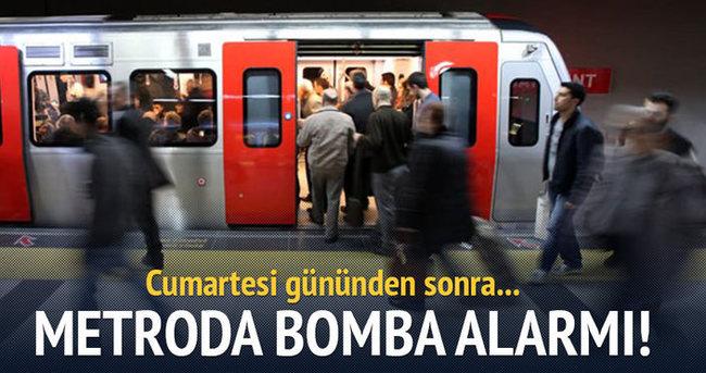 Ankara metrosunda bomba alarmı
