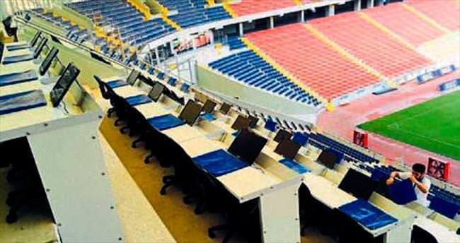 Mersin Stadı'na 50 televizyon