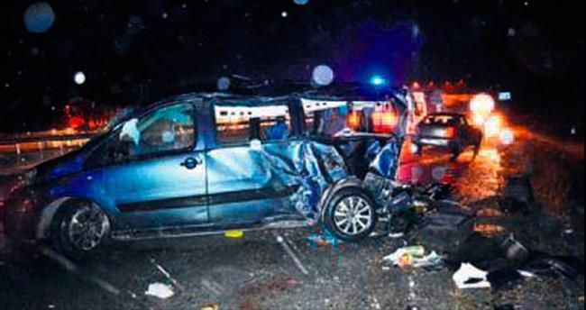 Ankara'da trafik kazası: 1 ölü, 6 yaralı