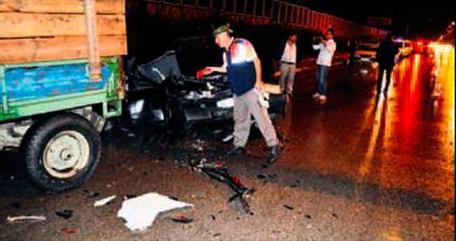 Çubuk'ta zincirleme kaza: 5 yaralı