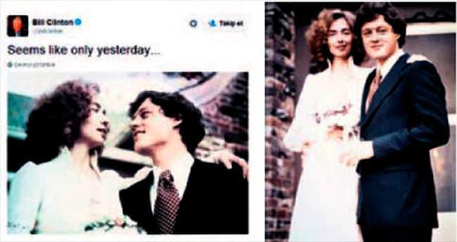 Clinton çiftinin 40'ıncı yılı: Sanki dün gibi
