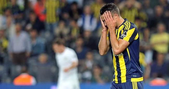 'Van Persie, Fenerbahçe'de başarısız!'