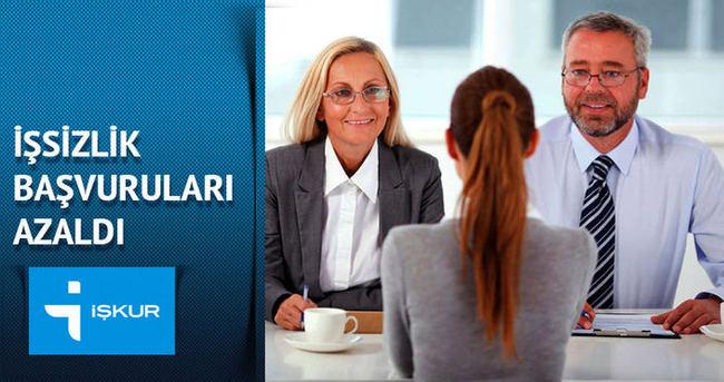 İşkur'a yapılan işsizlik başvuruları yüzde 35,5 azaldı