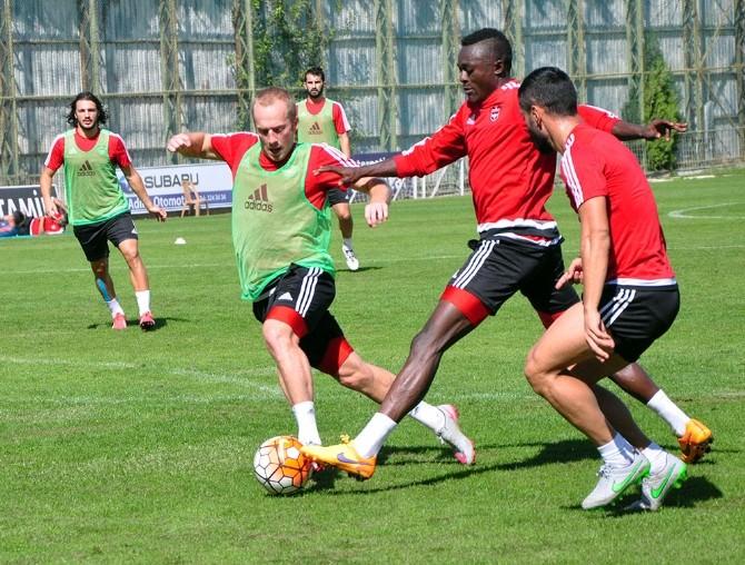 Gaziantepspor, Torku Konyaspor Maçının Hazırlıklarını Sürdürüyor
