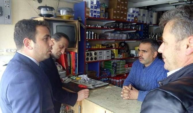 Milletvekili İshak Gazel: Esnafın Yanında Olduk Ve Olmaya Da Devam Edeceğiz