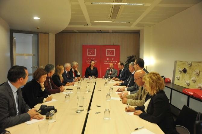 Sosyal Demokrat Başkanlar Brüksel'de