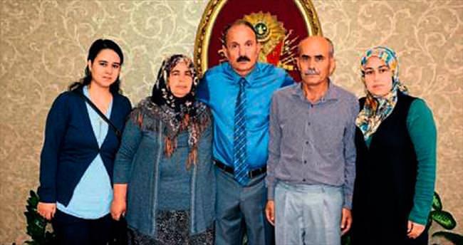 Şehit ailesinden Saatcı'ya ziyaret