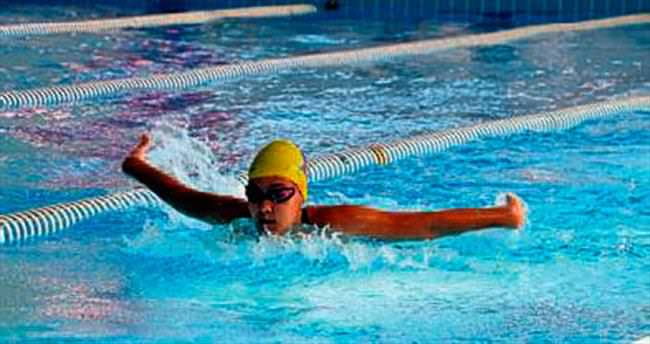 Pentatlon yüzme yarışları