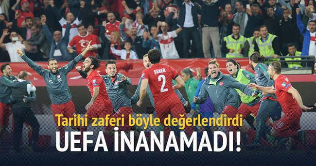 UEFA inanamadı!