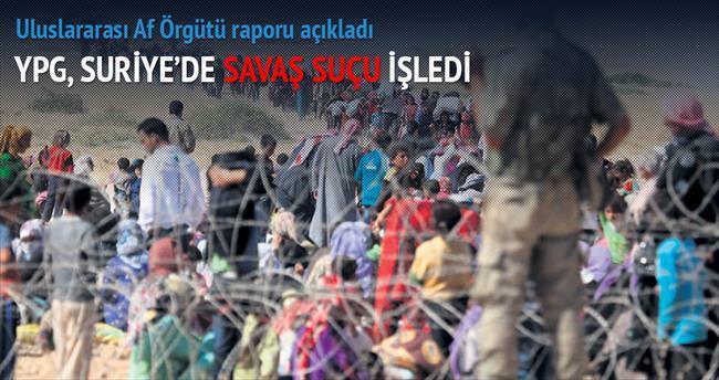 YPG, Suriye'de savaş suçu işledi