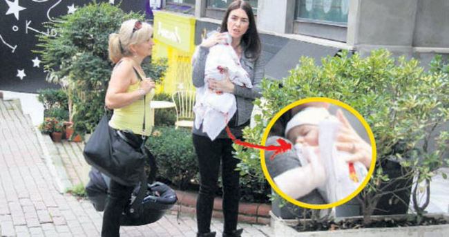 Nefise Karatay'ın bebeği göründü