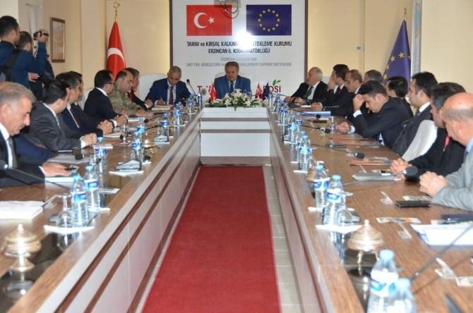 Erzincan'da Kış Tedbirleri Her Yönüyle Ele Alındı