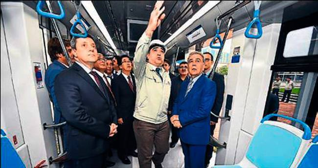 İzmir'in tramvayları yüzde 85 yerli