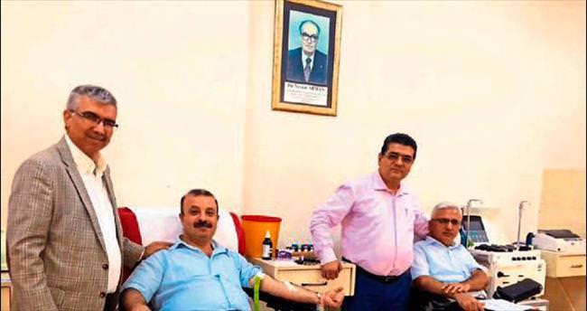 Hakim ve savcılardan Kızılay'a kan bağışı