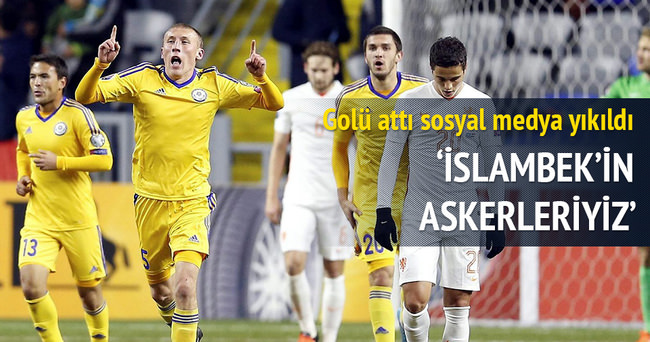 İslambek'in askerleriyiz