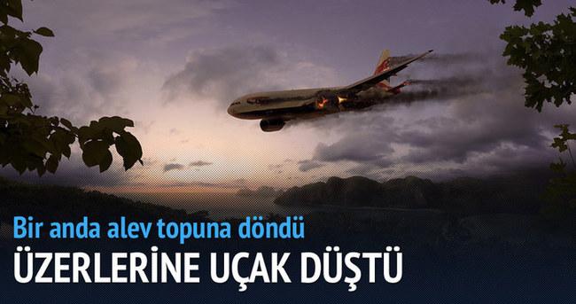 Art arda iki uçak çakıldı