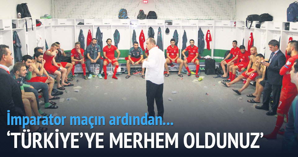 Türkiye'ye merhem oldunuz