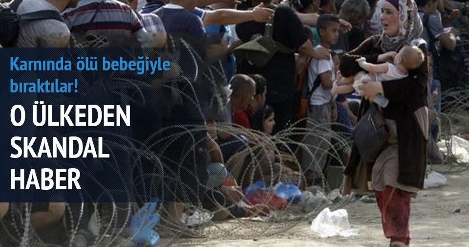 Avusturya, Suriyeli mülteciyi karnında ölü bebeğiyle Almanya'ya gönderdi