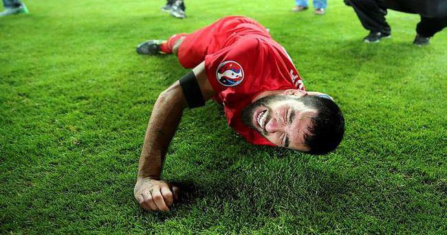 UEFA, Arda Turan'ın bu fotoğrafını seçti