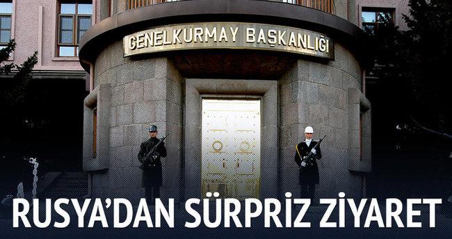 Rusya'nın askeri heyeti Ankara'da