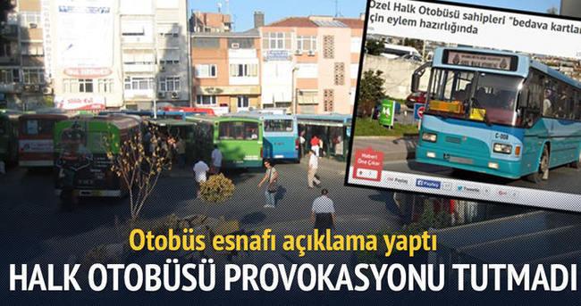Doğan Medyası'nın otobüs provokasyonu boş çıktı
