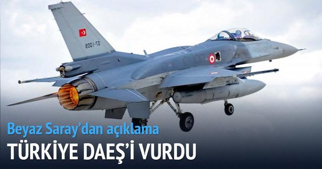 Beyaz Saray: Türkiye DAEŞ'i vurdu