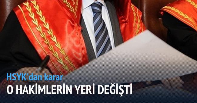 156 hakim ve savcının görev yeri değiştirildi