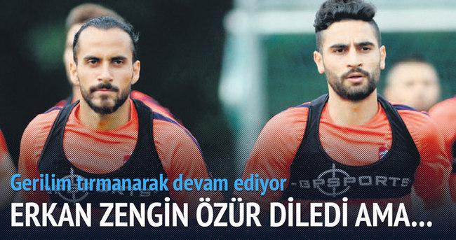 Erkan Zengin, Mehmet Ekici'den özür diledi