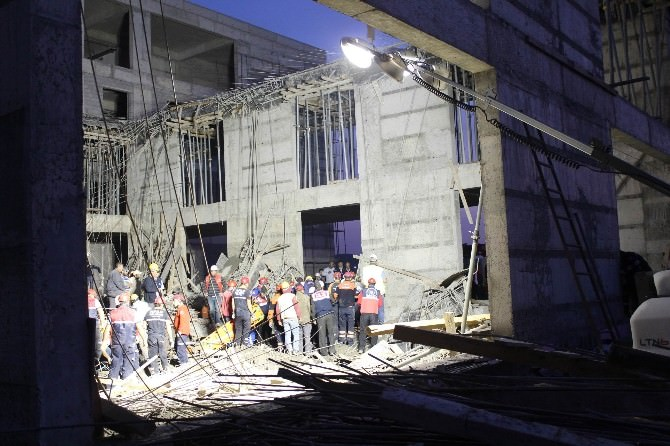 Enkazda Kalan İşçilere 9 Saatte Ulaşıldı
