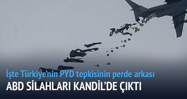 PYD'ye verilen silah PKK'ya gidiyor