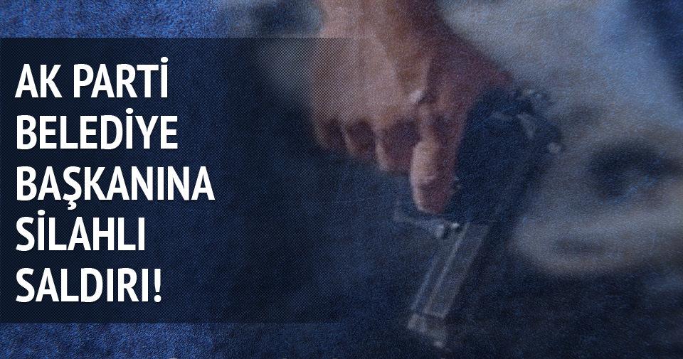 AK Partili Belediye Başkanı'na makamında silahlı saldırı