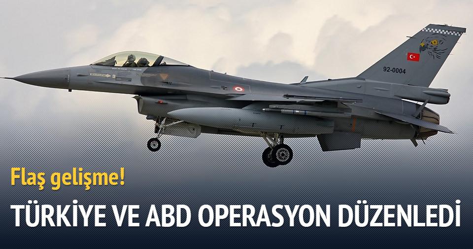 Türkiye ile ABD, DAEŞ'e yönelik operasyon düzenledi