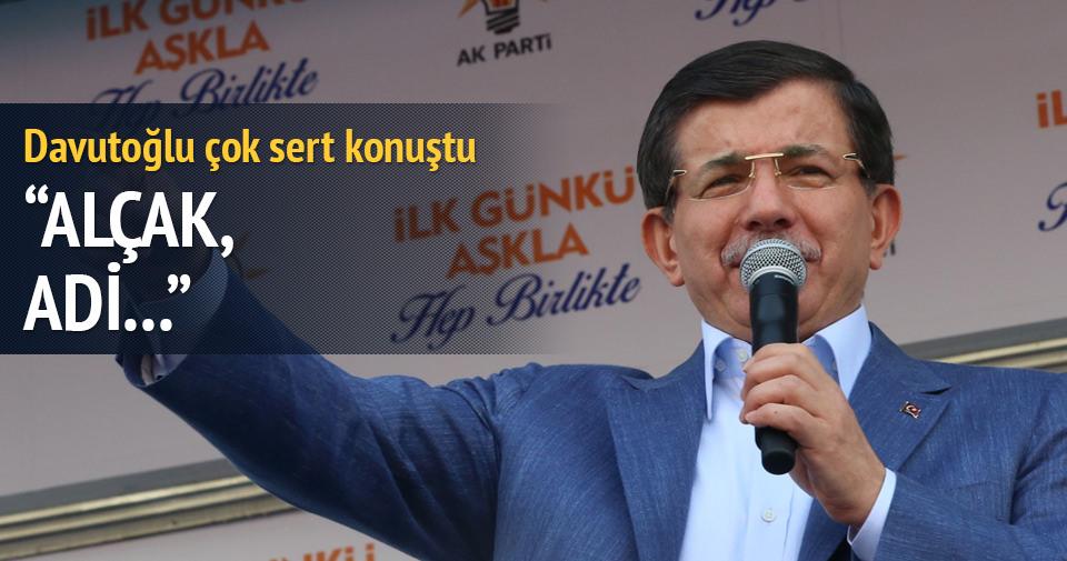 Davutoğlu: Milletimize siper olacağız