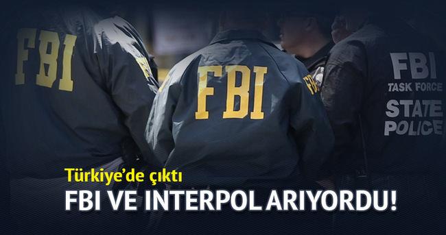 FBI ve Interpol arıyordu! Isparta'dan çıktı