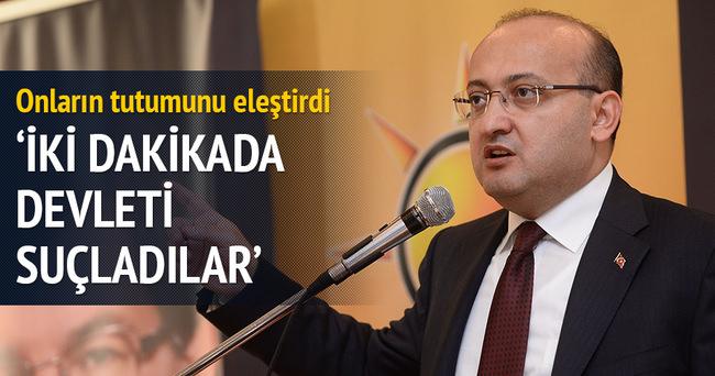 Akdoğan'dan HDP'ye sert mesaj