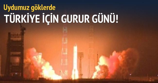 Türksat 4B uzaya fırlatıldı