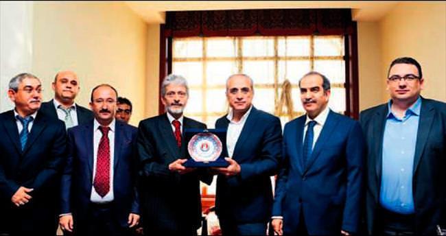 Akdoğan ve Topçu'dan Sincan ziyareti