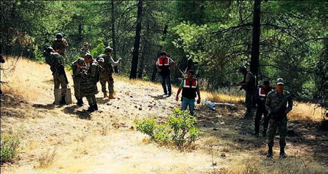 Sınırın 3 kilometre içinde kimliksiz İHA düşürüldü