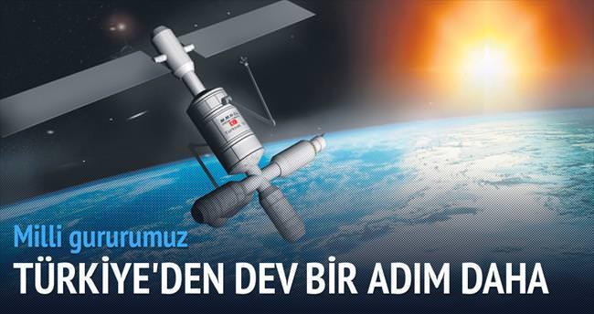 4B uydusu uzayda