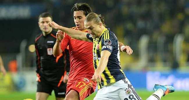 Kayserispor - Fenerbahçe 39. kez...