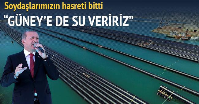 Türkiye'den Kıbrıs'a içme suyu