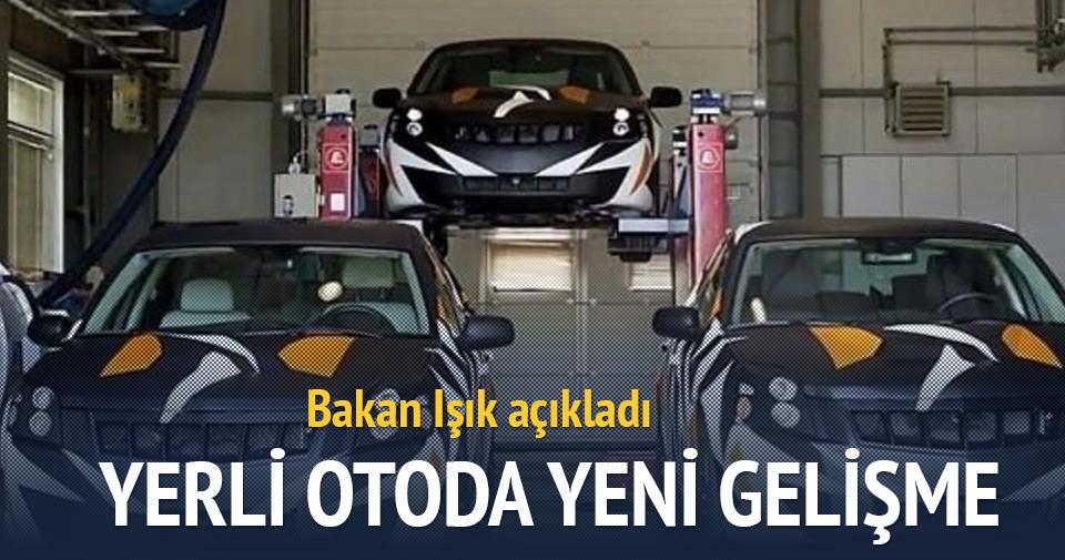 'Yerli otonun yüzde 85'i Türkiye'de üretilecek'