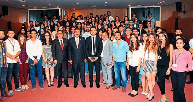 Başkan Çetin'den öğrencilere tavsiye